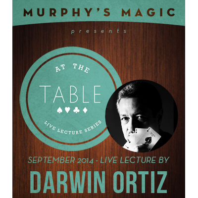 At the Table Live Lecture Darwin Ortiz
