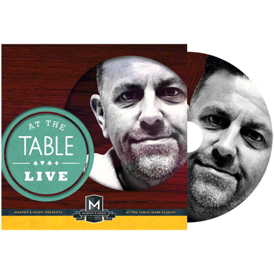 At the Table Live Lecture Mark Elsdon