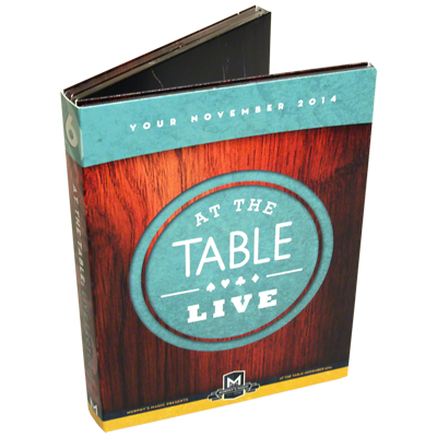 At the Table Live Lecture November 2014 (4 DVD set)