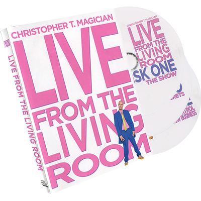 Live-From-The-Living-Room-3DVD-Set-starring-Christopher-T.-Magician