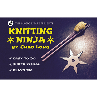 Knitting Ninja by Chad Long*