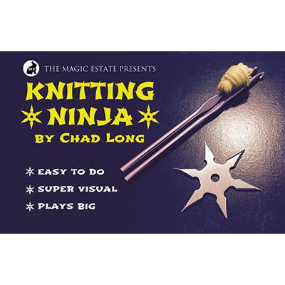 Knitting Ninja by Chad Long*