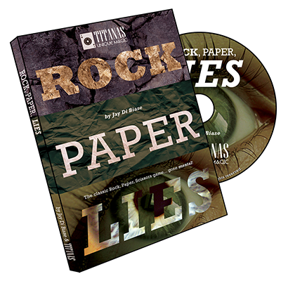 Rock -  Paper,Lies by Jay Di Biase and Titanas Magic Productions