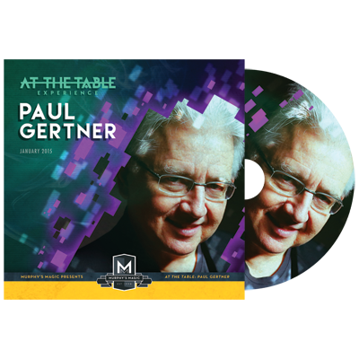 At the Table Live Lecture Paul Gertner*