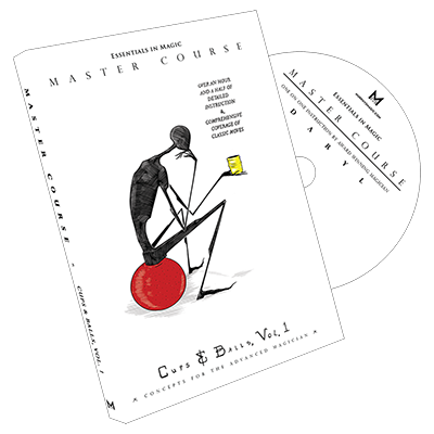 Master Course Cups and Balls by Daryl Vol 1