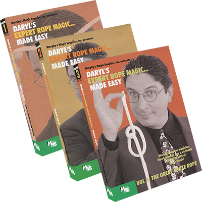 Expert Rope Magic 3 volume set - Daryl