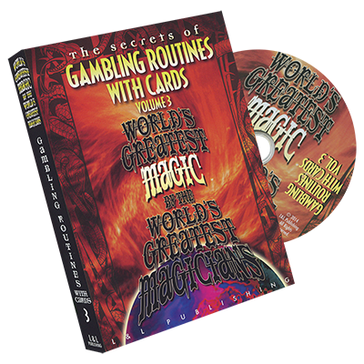 Gambling Routines With Cards Vol. 3 - World`s Greatest*