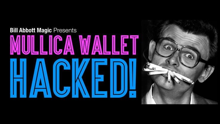 Mullica Wallet Hacked! with DVD -  Books, and Props (Package)