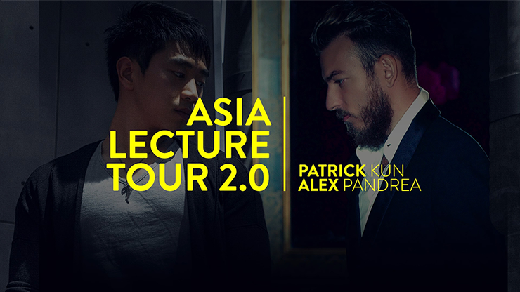 Asia Lecture Tour 2.0 by Alex Pandrea and Patrick Kun*