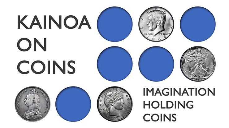 Kainoa On Coins: Imagination Holding Coins