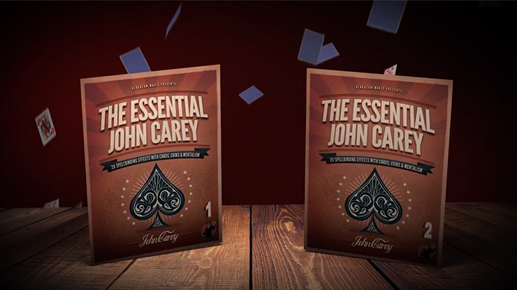 Essential Carey (2 DVD Set) by John Carey and Alakazam Magic*