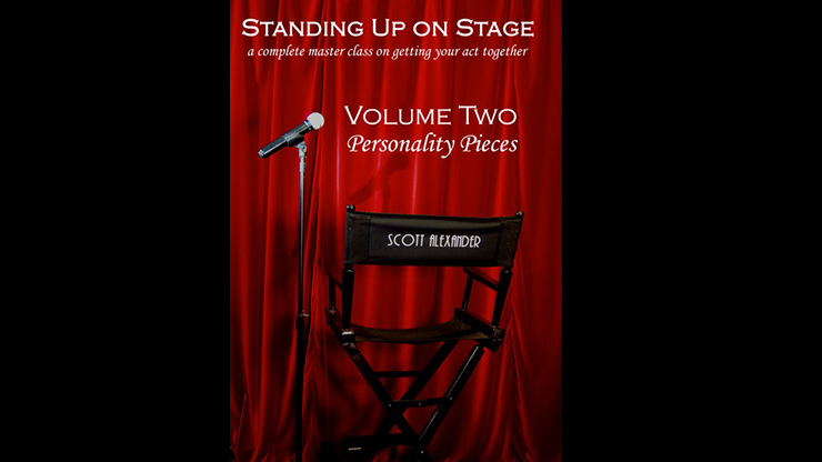 Standing Up on Stage Volume 2 Personality Pieces by Scott Alexander*