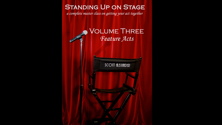 Standing Up on Stage Volume 3 Feature Acts by Scott Alexander*