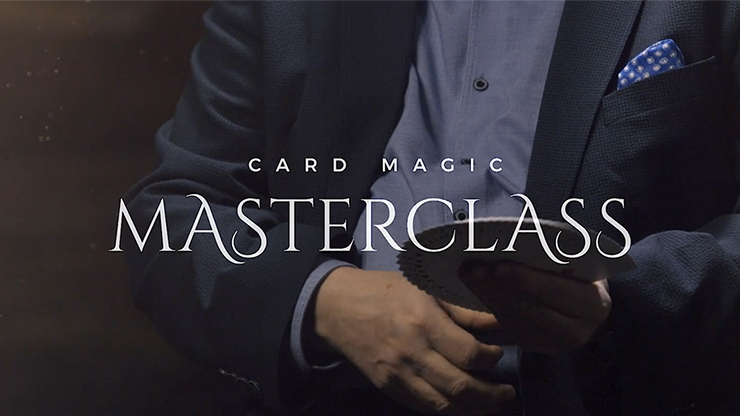 Card Magic Masterclass (5 DVD Set) by Roberto Giobbi*