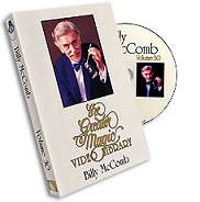 Billy McComb DVD