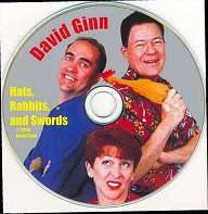 Hats, Rabbits and Swords DVD by David Ginn