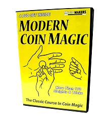 Modern Coin Magic on DVD