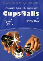 Cups & Balls - Eddy Ray  2 VOLUME SET