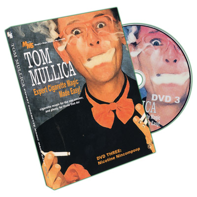 Expert Cigarette Magic Volume  3  by Tom Mullica