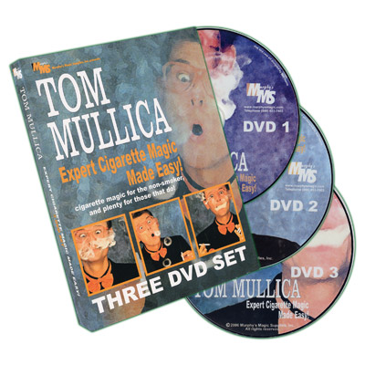 Expert Cigarette Magic 3 Volume set by Tom Mullica