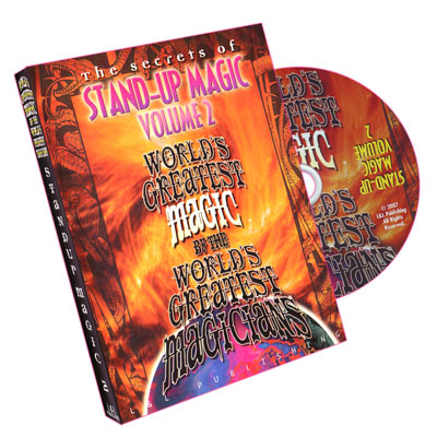 Stand-Up Magic - Volume 2 - World`s Greatest Magic*