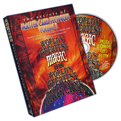 Master Card Technique Volume 1 - Worlds Greatest Magic