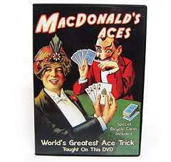 McDonald Aces with Cards