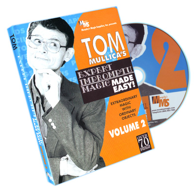 Expert Impromptu Magic Made Easy Tom Mullica- Vol 2*