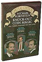 Knockout Coin Magic by Michael Rubenstein