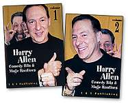 Comedy Bits and Magic Routines Vol 1 by Harry Allen