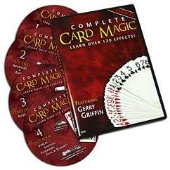 Complete Card Magic - 4 volume set