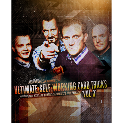 Ultimate Self Working Card Tricks Volume 3 by Big Blind Media video DOWNLOAD