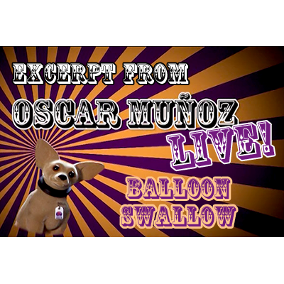 Balloon-Swallow--by-Oscar-Munoz-(Excerpt-from-Oscar-Munoz-Live)-video-DOWNLOAD