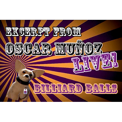 Billiard-Balls--by-Oscar-Munoz-(Excerpt-from-Oscar-Munoz-Live)-video-DOWNLOAD