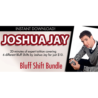Bluff Shift Bundle by Joshua Jay video DOWNLOAD