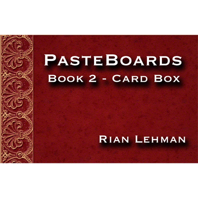 Pasteboards (Vol.2 Cardbox) by Rian Lehman - Video eBook