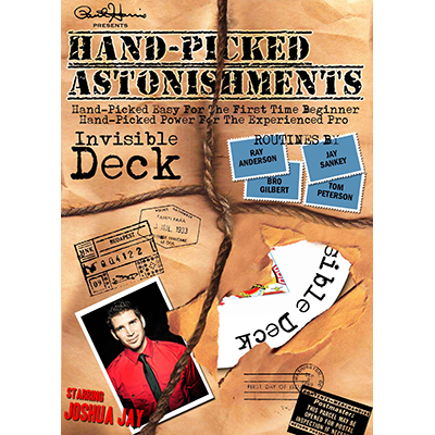 Handpicked Astonishments (Invisible Deck) by Paul Harris and Joshua Jay - DOWNLOAD