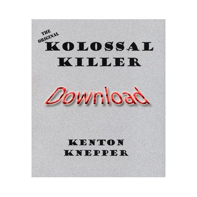 Kolossal Killer (Original) by Kenton Knepper eBook DOWNLOAD