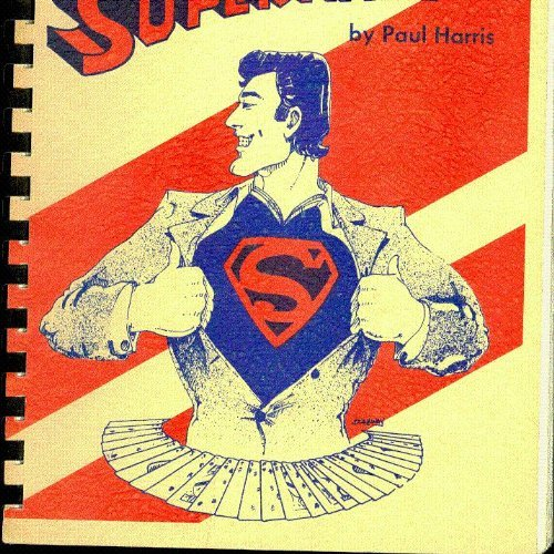 Super-Magic-by-Paul-Harris--First-Edition