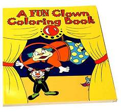 Clown-Coloring-Book