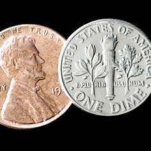 Dime and Penny by Johnson Products