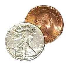 Copper/Silver Half - Silver