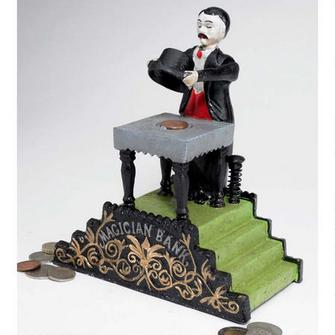 Maitland the Magician Mechanical Bank