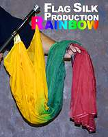 Rainbow Silk Production