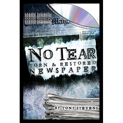 NO-TEAR-Torn-&-Restored-Newspaper--JB-Magic