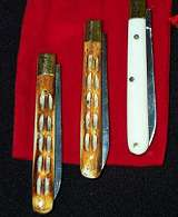 Mogars Bone Handle Knives