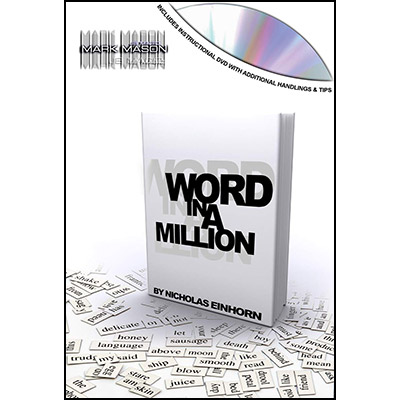 Word In A Million Book Test - JB Magic