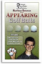Appearing-Golf-Balls