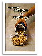 Signed Bill In Peanut Can