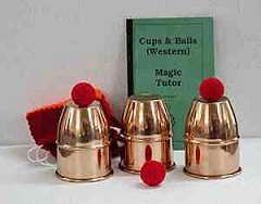 Cups & Balls - Economy Copper